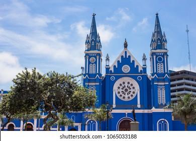 Church of la recoleta in lima peru.