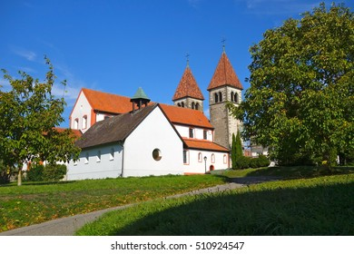 A church at the lake constance