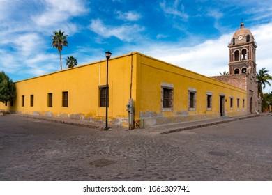 church of Loreto Mission Baja California Sur Mexico