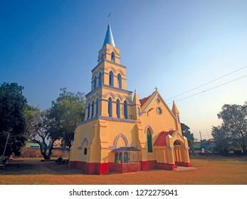 Church in Madhupur, Jharkhand, India