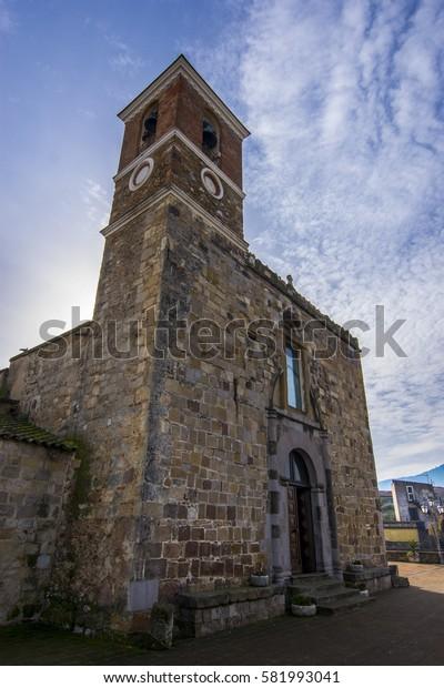Church of the Madonna della Neve, Villamassargia, Sardinia