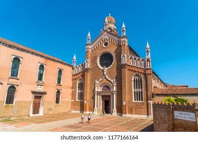 church of Madonna dell'Orto in Venice, Italy.