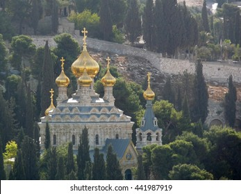 Church of Mary Magdalene, Jerusalem, Israel