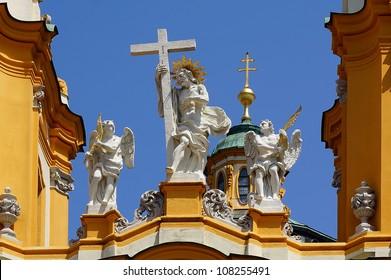 Church in Melk Abbey, Austria