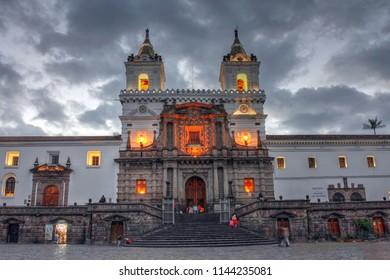 Church and Monastery of San Francisco de Quito, Ecuador