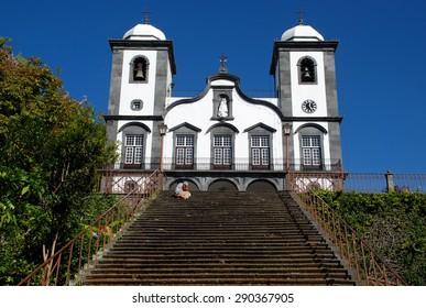 Church in Monte, Madeira, Portugal