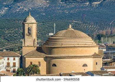 Church in Montefrio, Granada