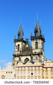 Church of Mother of God before Tyn, is a gothic church and a dominant feature of the Old Town of Prague