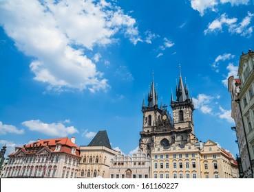 Church of Mother of God in front of Tyn, Staromestska Square, Prague