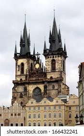 Church of Mother of God in front of Tyn, Old Town Square, Prague, Czech Republic