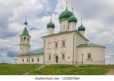 Church in the name of Dmitry Solunsky. Russia, Arkhangelsk region, Kholmogory district, Lomonosovo village