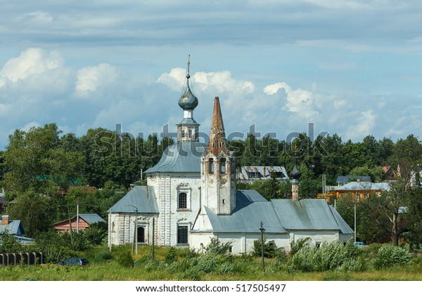 The Church of the Nativity of John the Baptist and the Epiphany Church in Suzdal