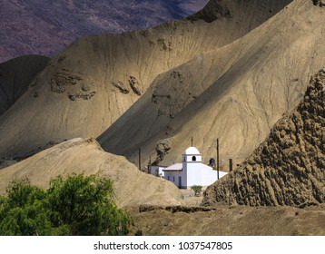 Church near the village of Purmamarca, Jujuy, Argentina