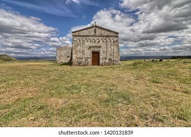 Church Nostra Signora di Cabu Abbas, Torralba, Sardinia, Italy