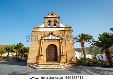 Church Nuestra Senora De La Pena Stock Photo Edit Now 650826913