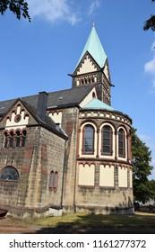 Church in Obernkirchen: Neo-Romanesque Style