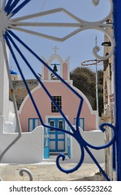 Church in Oia on the island of Santorini