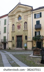 Church in the old town of the roman town of Acqui Terme, Piedmont