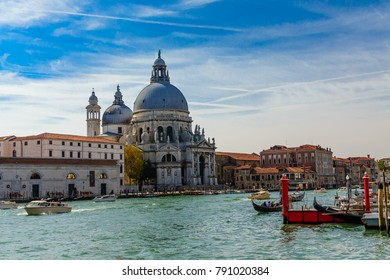 Church on Grand Canal in Venice