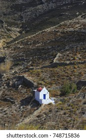 Church on Island of Mykonos in Greece