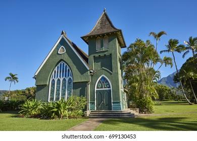 Church on Kauai Island, Hawaii, USA