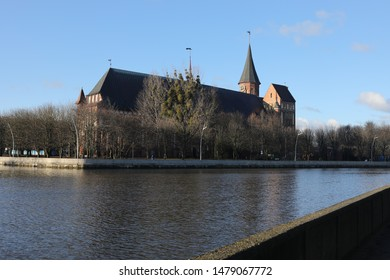 Church on the other side of the river