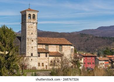 The church Oratorio di Santa Maria in Valle, also known as Lombard Temple,  in the city of Cividale del Friuli in Northern Italy