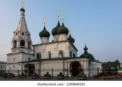 Church of the Origin of the Honest Trees of the Cross of the Lord, which is in the City (Yaroslavl, Russia)