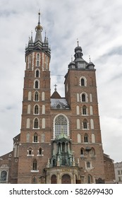 Church of Our Lady Assumed into Heaven also known as St. Mary Church in Krakow, Poland