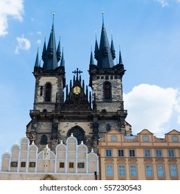 Church of our lady before Tyn in Prague, Czech Republic