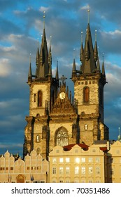 Church of Our Lady Before Tyn in Old Town, Prague, Czech Republic