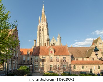 The Church of Our Lady in Bruges, Belgium.