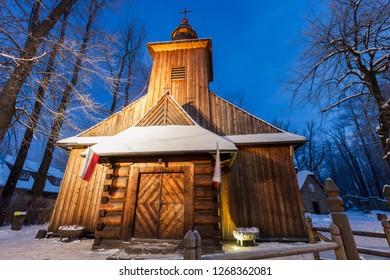 Church of Our Lady of Czestochowa in Zakopane. Zakopane, Lesser Poland, Poland.