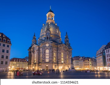 The Church of Our Lady, Dresden, Germany - May 1st 2018
