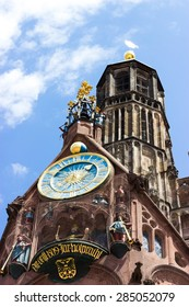 Church of Our Lady. Nuremberg.