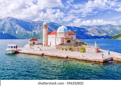 Church of Our Lady on the reef in Perast, Montenegro