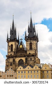 Church of Our Lady  in Prague in the Czech Republic.