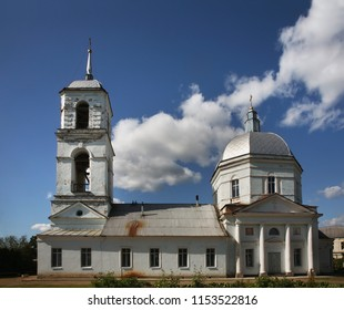 Church of Our Lady of Sign in Tikhvin. Leningrad oblast. Russia