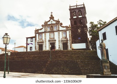 Church of Our Lady of the Star in Ribeira Grande, Sao Miguel, Azores, Portugal