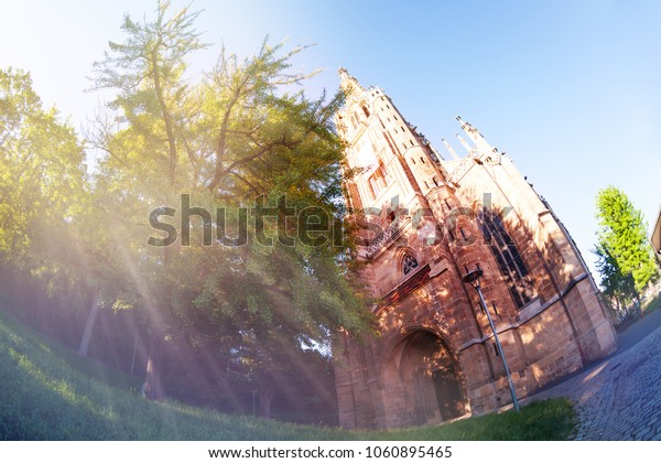 Church of Our Lady at sunny day, Esslingen