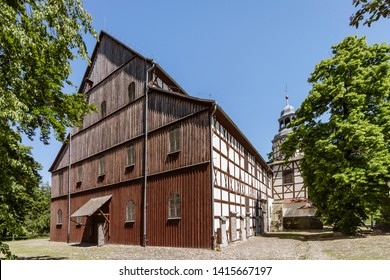 The Church of Peace in Jawor, Poland, built in 1656 and since 2001 listed as a UNESCO World Heritage Site