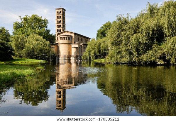 Church of Peace, Sanssouci Park in Potsdam (Germany)