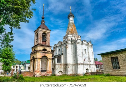 Church of Peter the Metropolitan in Pereslavl-Zalessky. The Golden Ring of Russia