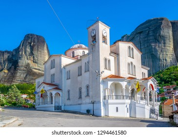 Church of peter and paul in Kastraki, Greece