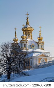 church in Petergof, Russia