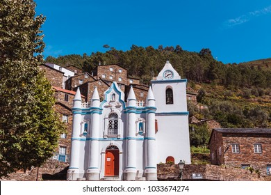 Church of Piodao, schist village, Portugal