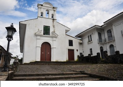 A Church in Popayan, Colombia.