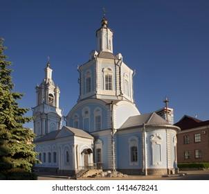 Church of Presentation of Blessed Virgin (Vvedenskaya church) in Voronezh. Russia