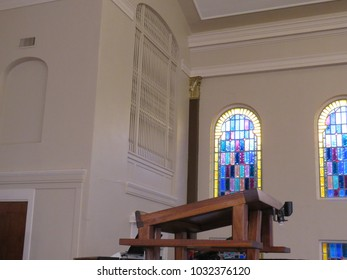 Church Pulpit Stock Images Royalty Free Images Amp Vectors