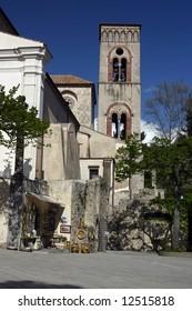Church in Ravello, Amalfi coast, South Italy